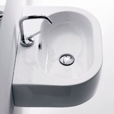 Kerasan Flo Wall Mounted / Vessel Bathroom Sink