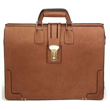 <strong>Korchmar</strong> Classic Leather Laptop Briefcase