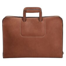 Schlesinger Three-way Leather Briefcase