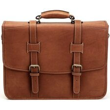 <strong>Korchmar</strong> Adventure Litigator Leather Laptop Briefcase