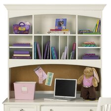 <strong>Build-A-Bear by Pulaski</strong> Pawsitively Yours Desk Hutch in Vanilla