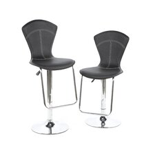 "Petal Gas Lift 24"" Swivel Barstool"