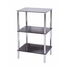 Sierra 3 Tier Square Shelving Unit