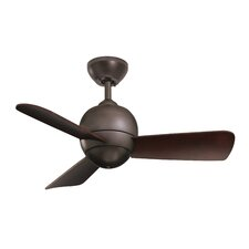"30"" Tilo 3 Blade Ceiling Fan"