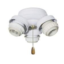 <strong>Emerson Ceiling Fans</strong> 3 Light Turtle Fitter
