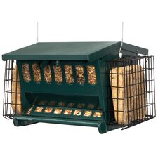 Seed N More Suet Hopper Bird Feeder