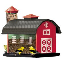 Barn Combination Decorative Bird Feeder