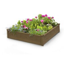 Raised Garden Square Planter Box
