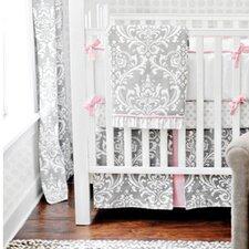 Stella 3 Piece Crib Bedding Set