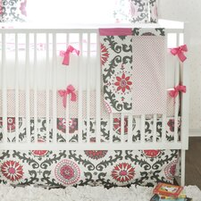 Ragamuffin 4 Piece Crib Bedding Set