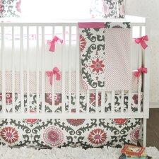 Ragamuffin 4 Piece Crib Bedding Set