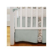 Picket Fence 2 Piece Crib Bedding Set