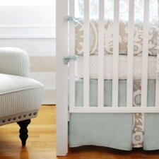 Picket Fence 3 Piece Crib Bedding Set