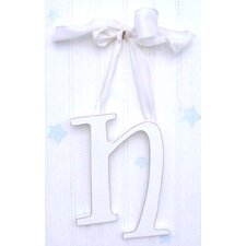 "9"" Hand Painted Hanging Letter - N"