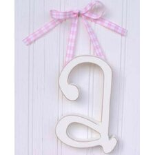 "9"" Hand Painted Hanging Letter - A"