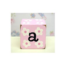 "<strong>New Arrivals</strong> ""a"" Letter Block in Pink"