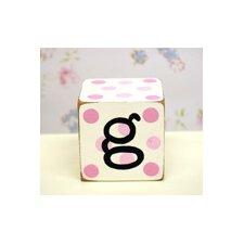 """""""g"""" Letter Block"""