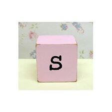 """""""s"""" Letter Block"""