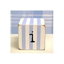 "<strong>New Arrivals</strong> ""i"" Letter Block in Blue"