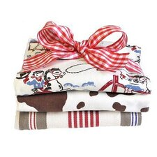 Retro Cowboy Burp Cloth Set