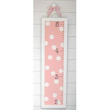 Pink Polka Dot Growth Chart