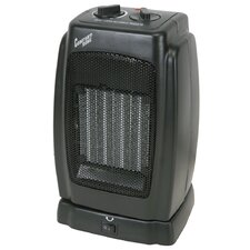 Ceramic Tower Space Heater with Oscillating