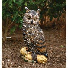 Large Owl Statue