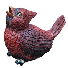 Bird Singing Statue
