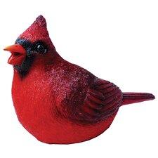 Cardinal Chirper Statue