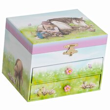 Brandy Girl's Musical Horse Jewelry Box