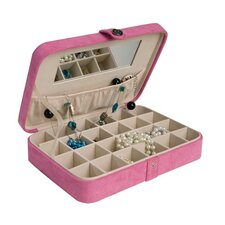 Maria Fashion Jewelry Box in Rose Blush