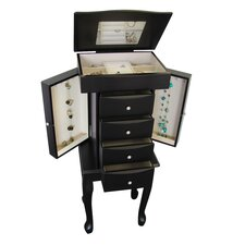 Racquel Jewelry Armoire in Java