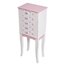 Chloe Girl's Jewelry Armoire