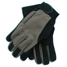 <strong>Womanswork</strong> MicroSuede Off Black Stretch Work Glove