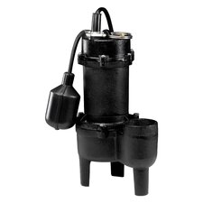 <strong>WAYNE</strong> 1/2 HP Tether Float Switch Sewage Pump