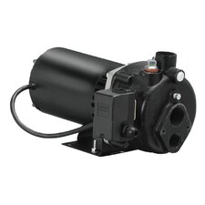 1 HP Cast-Iron Convertible Well Jet Pump