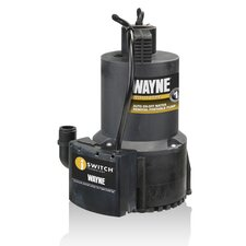 <strong>WAYNE</strong> 1/4 HP Automatic High Flow Utility Pump