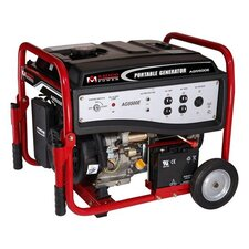 5,000 Watt Portable Gasoline Generator