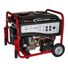 6,000 Watt Portable Gasoline Generator
