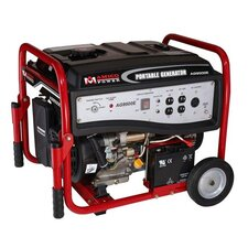 7,250 Watt Portable Gasoline Generator