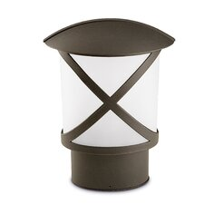 Cross 1 Light Post Lantern