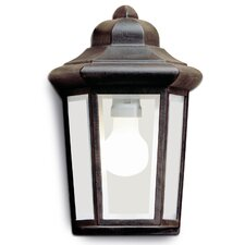 Perseo Large 1 Light Flush Wall Light