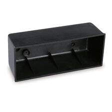 Varios Flush Fitting Box for Refs in Black