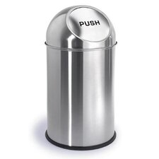 Intro 2.6-Gal. Pushman Trash Can