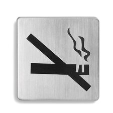 "<strong>Blomus</strong> Signo Door Plate ""No Smoking"""