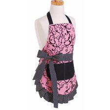 <strong>Flirty Aprons</strong> Girl's Apron in Chic Pink
