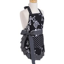 <strong>Flirty Aprons</strong> Girl's Apron in Sassy Black