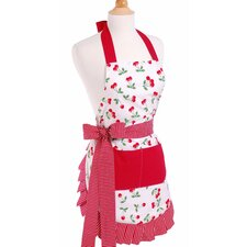 <strong>Flirty Aprons</strong> Women's Apron in Very Cherry