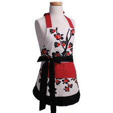 <strong>Flirty Aprons</strong> Girls' Original Apron in Cherry Blossom