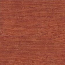 "Metro Design Wood 4"" X 36"" Vinyl Plank in Dark Cherry"